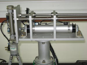pneumatic cylinder side loading