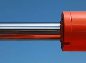 hydraulic cylinder bent rods