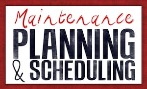 scheduling maintenance for manufacturing equipment